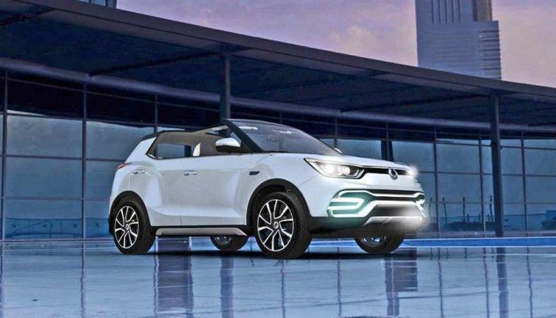 Ssangyong XIVAir Concept Cars, Vehicles, Concept