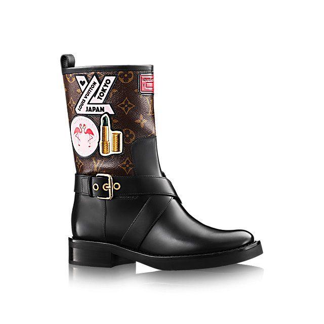 Botte World Tour Femme Souliers   LOUIS VUITTON   chaussures ... b2f888a3dac