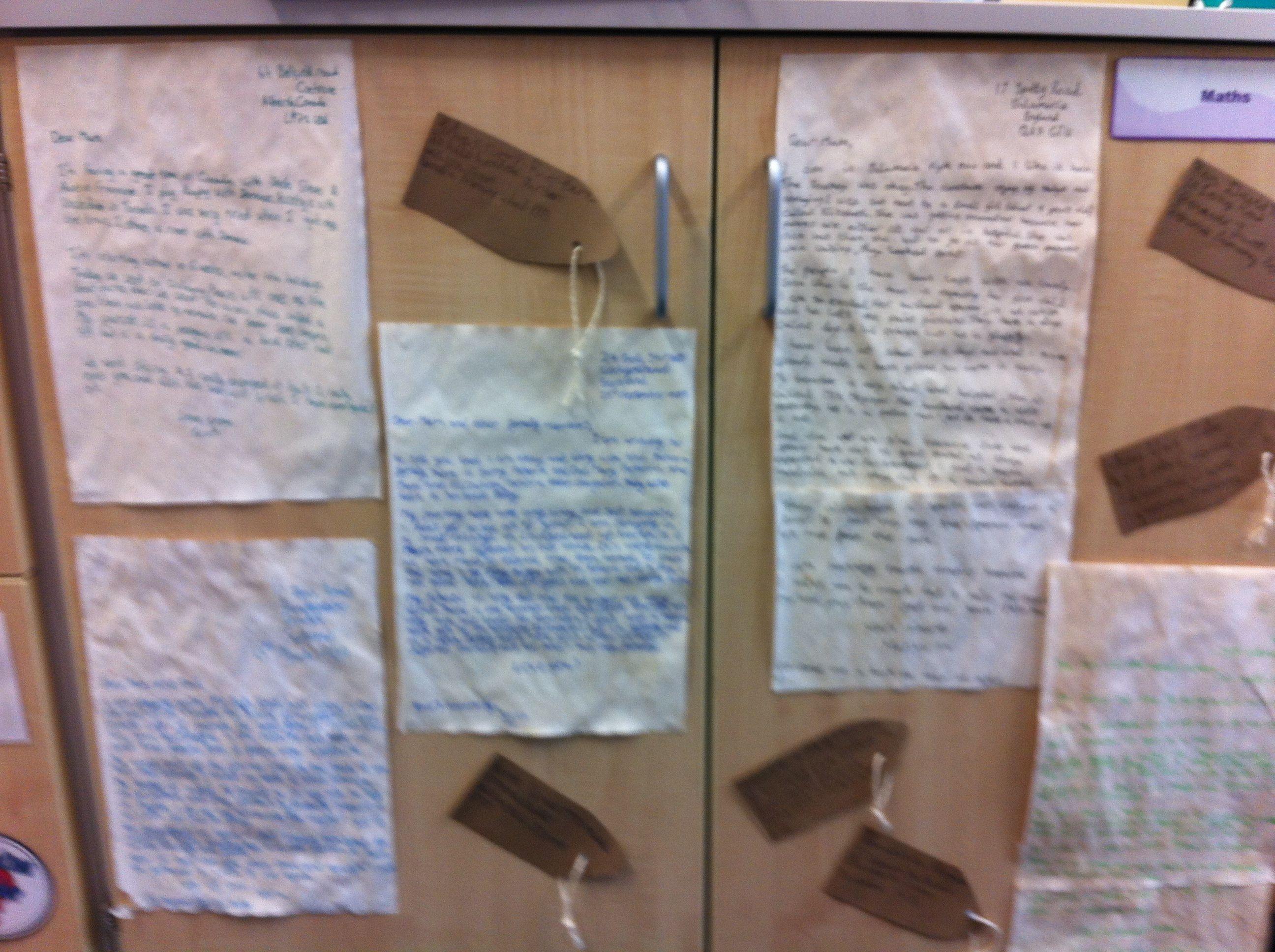 Ww2 Evacuee Letter
