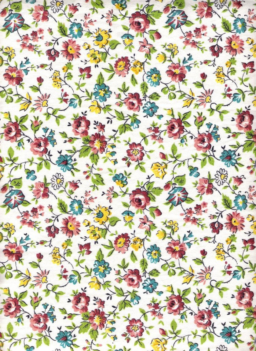 Vintage Floral Print Vintage Floral Fabric Googleda Ara Duvar Kaitlari Pinterest