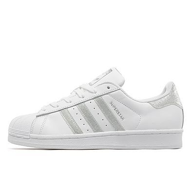 Adidas Superstar * Silver glitter * JD Sports * Got it at Stansted Duty  Free *