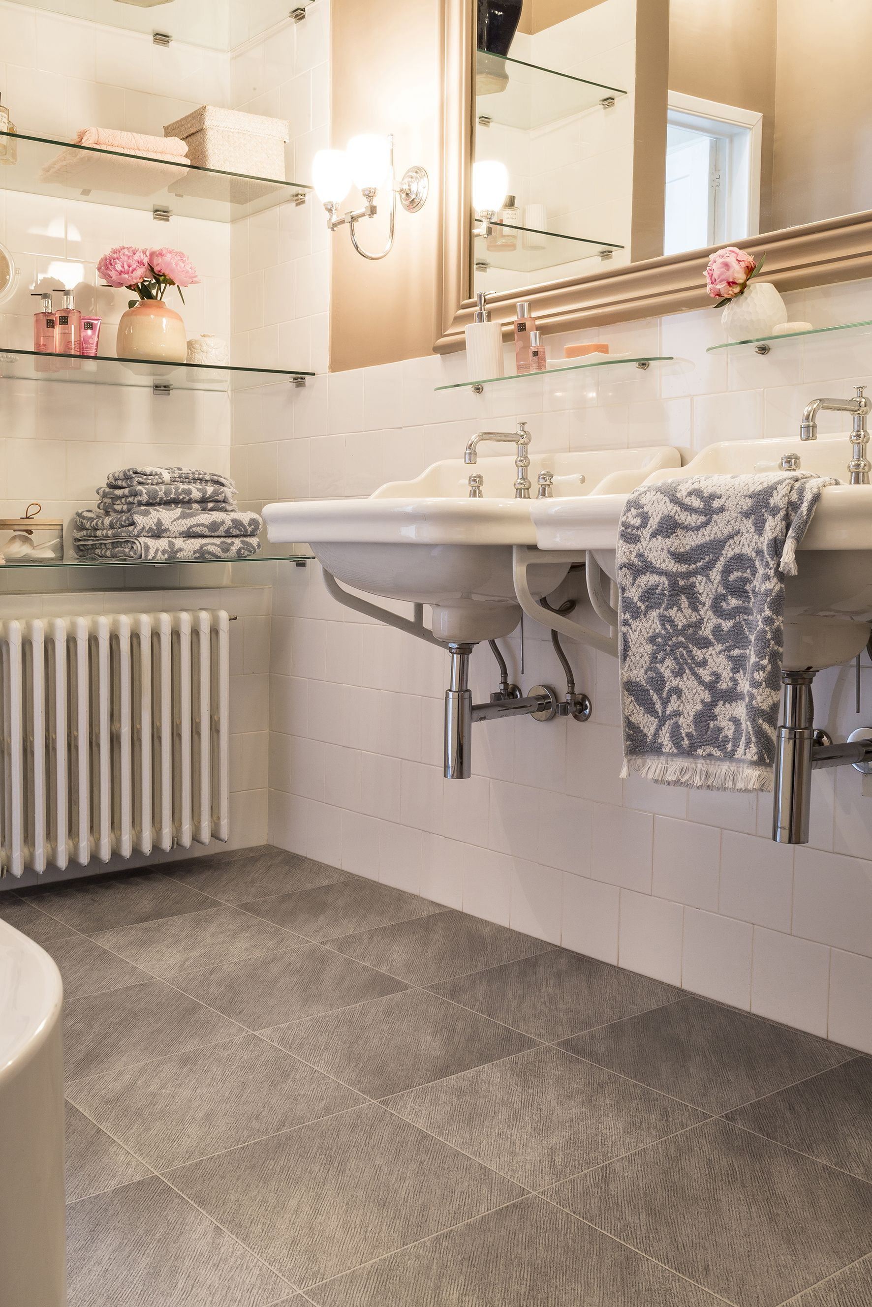 Bathroom Beauty With Our Quartz Tiled Design Non Slip Warmth And