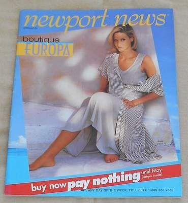 NEWPORT NEWS Catalog/ Boutique Europa/ 1998 (?)/ Heidi ...