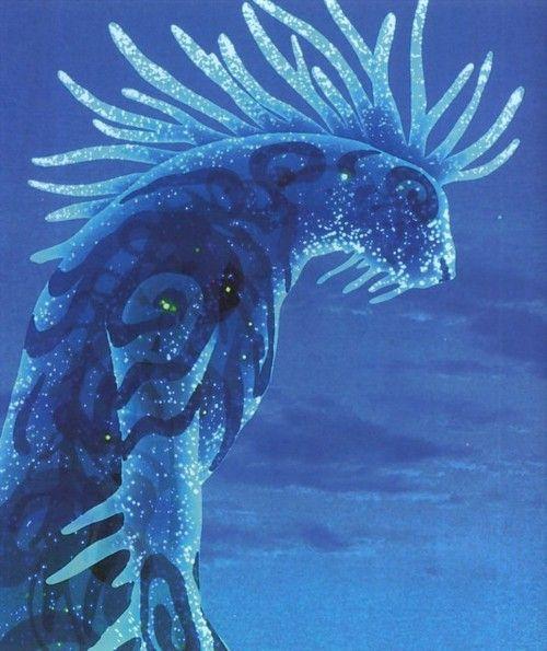 L'esprit de la forêt - Mononoke hime   Art studio ghibli ...