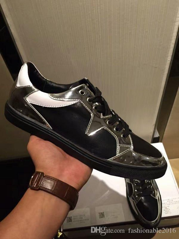 New Fashion and Luxury Shoes For Mens V Logo Cow L… | luxury