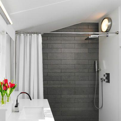 grey tile shower - google search   bathroom   pinterest