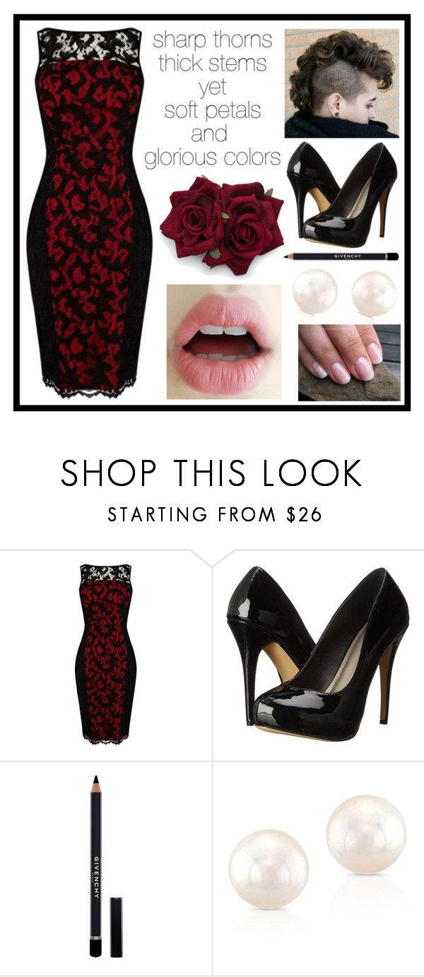 """""""275"""" by anastaziah2014 ❤ liked on Polyvore featuring Karen Millen, Michael Antonio, Givenchy and Anne Sisteron"""