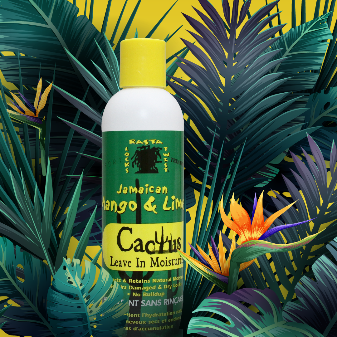 CACTUS LEAVE IN MOISTURIZER 8 oz Jamaican mango and lime