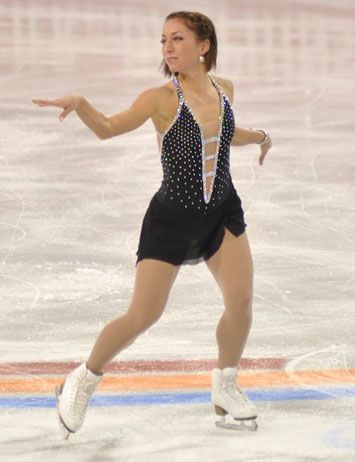 Amelie Lacoste at Four Continents