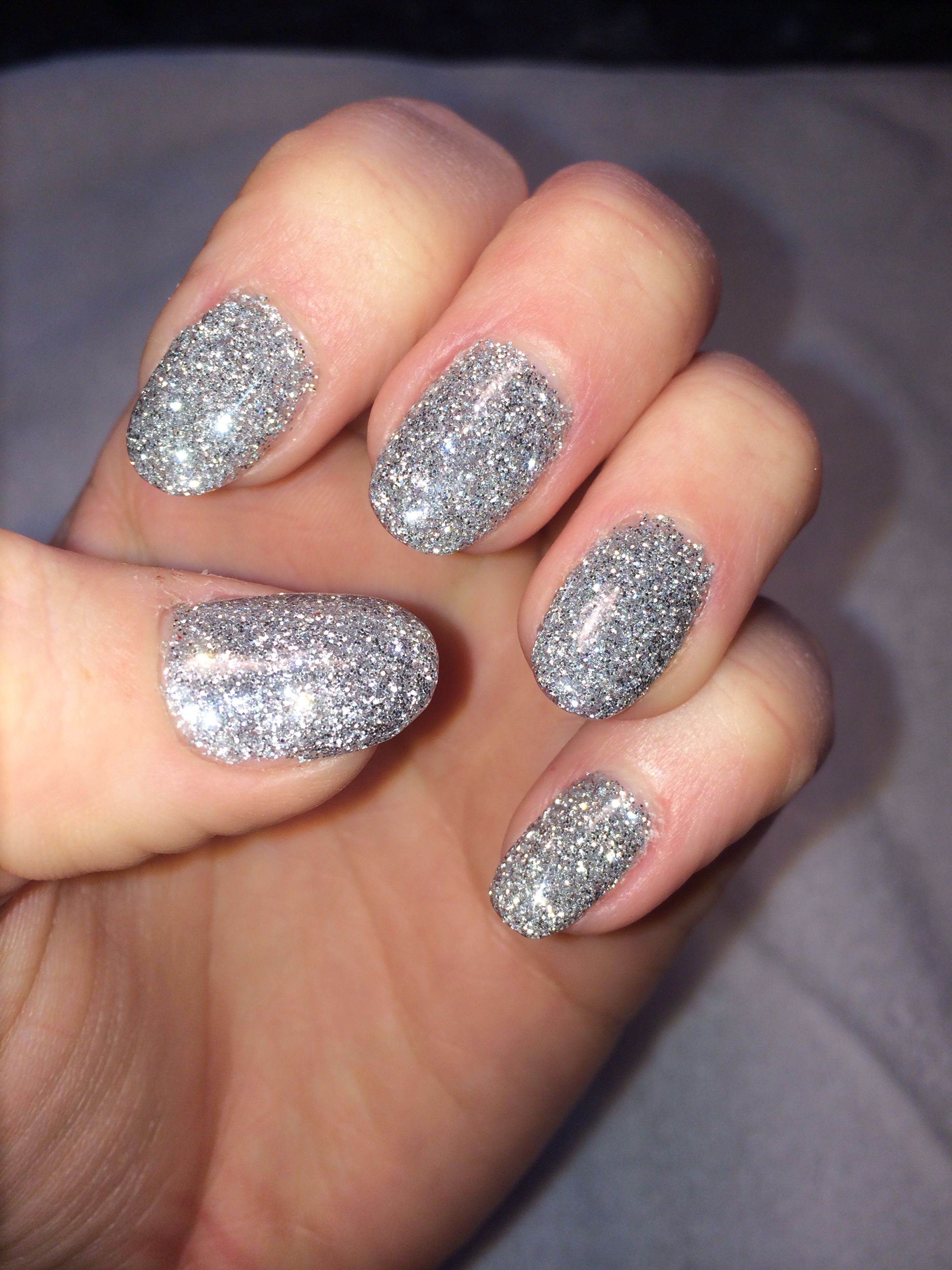 SNS dipping system with added tips and Artiglio glitter- Sylvia ...