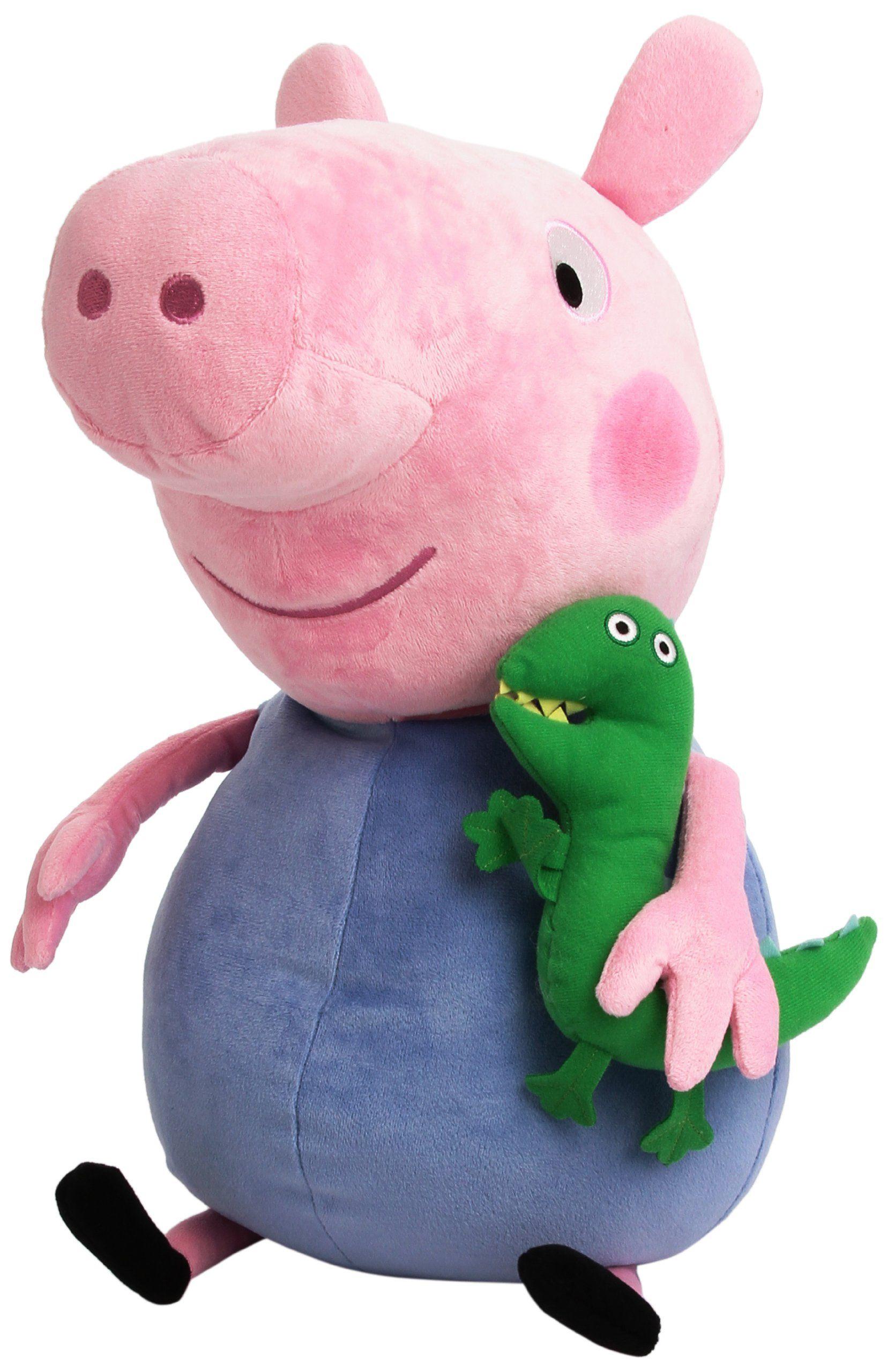 Peppa Pig Ty 15 Plush George Pig Amazon Co Uk Toys Games Cuddle Soft Plush Toy Peppa Pig [ 2560 x 1657 Pixel ]