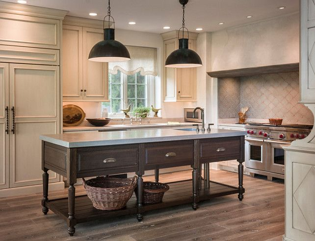 Kitchen Island One Of A Kind Island In Fumed Oak Plumbing Supply And Waste Pipes Are Slee Kitchen Styles French Kitchen Design Kitchen Inspirations