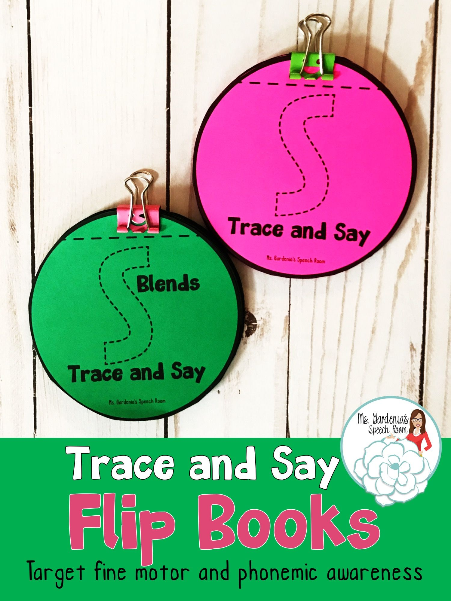 Trace And Say Flip Books S And S Blend Sounds