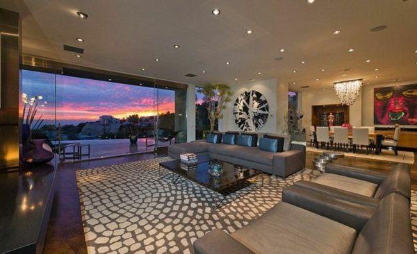 Luxus Wohnzimmer Sofa Sessel Tisch Art