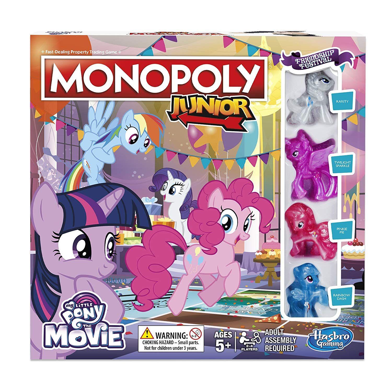 Amazon Es Hasbro Gaming Monopoly Junior My Little Pony Friendship Is Magic Juguetes Y Jueg Mi Pequeño Pony Juegos De Tablero Regalos De Cumpleaños Para Niños