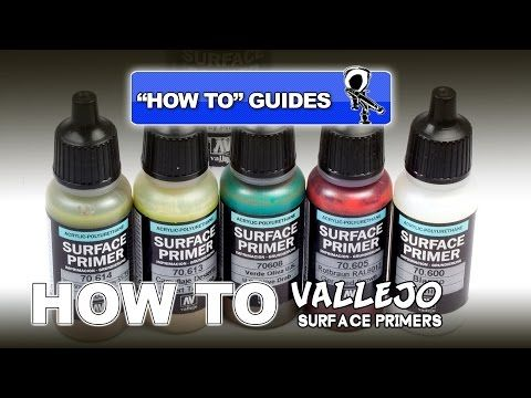 Vallejo Surface Primers Review How To Guide Vallejo Modeling Techniques Primer
