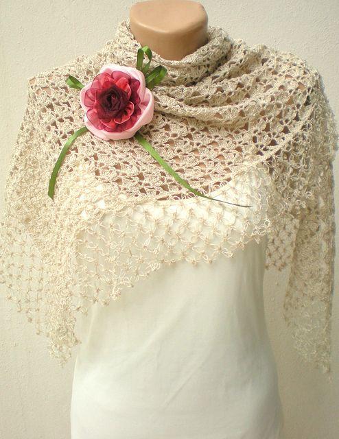 bridal crochet shawl   Chal, Tejido y Capilla