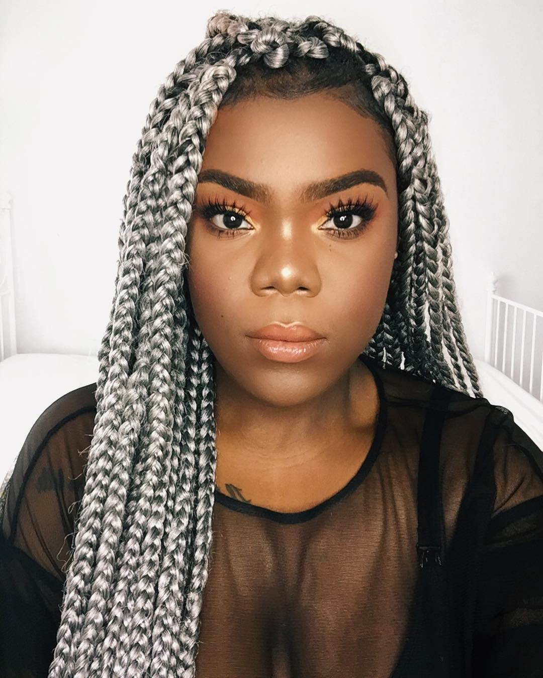 Thinking Of Grey Braids? Here's What It Really Looks Like On 9 Women | BN Style