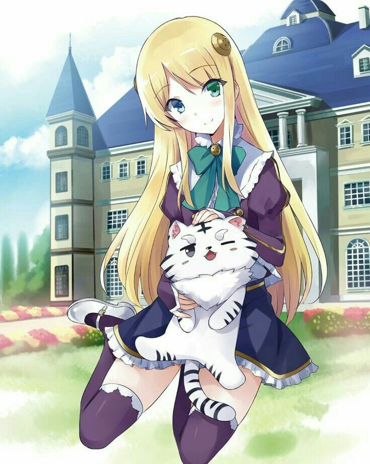 Live Kitty kitty Menina anime, Personagens de anime