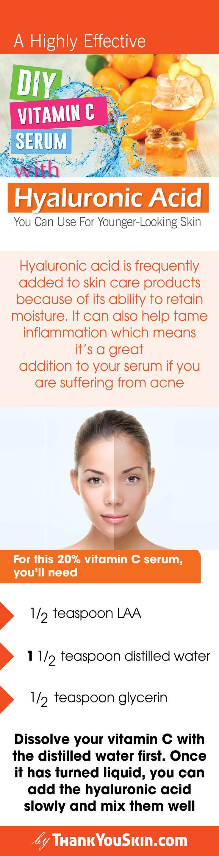 Diy vitamin c serum that actually works with images