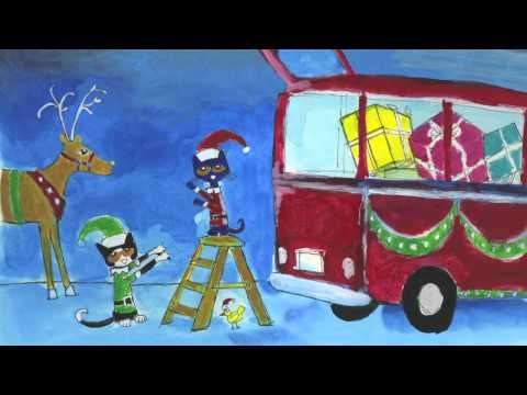 "Pete the Cat Saves Christmas! From James Dean and Eric Litwin.    'Twas the day before Christmas and Santa was ill.  In the cold winter wind he had caught a bad chill.  Will Christmas be canceled? Will it come to that?  ""Never!"" cried Santa.   ""Let's call Pete the Cat!""     In this rockin' new spin on the traditional tale The Night Before Christmas, Pet..."