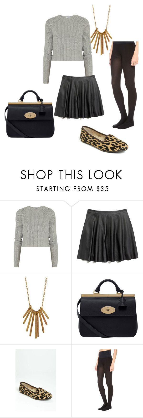 """""""Yo Soy la Luz"""" by lacybecnel ❤ liked on Polyvore featuring T By Alexander Wang, Madewell, Made Jewelry, Mulberry, UGG Australia and Commando"""