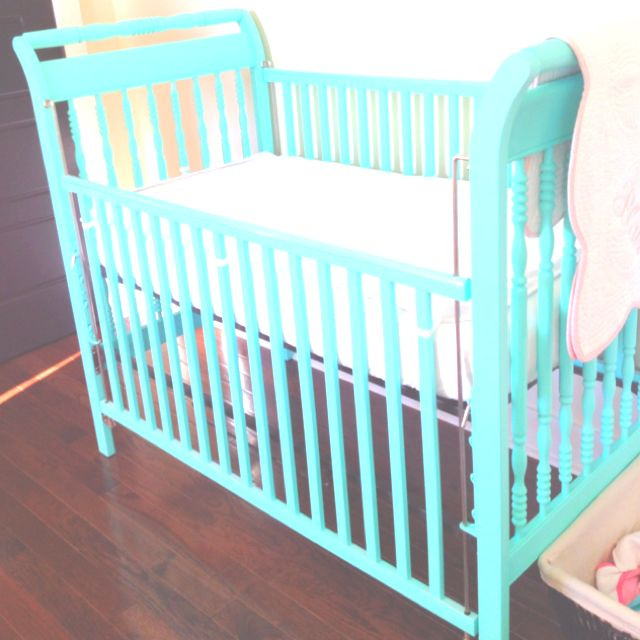 LOVE this color for a painted baby crib! | Nursery Ideas | Pinterest ...