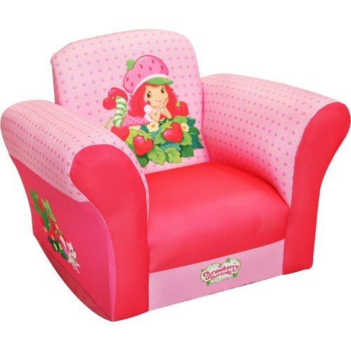 American Greetings Strawberry Shortcake Chair Small Standard
