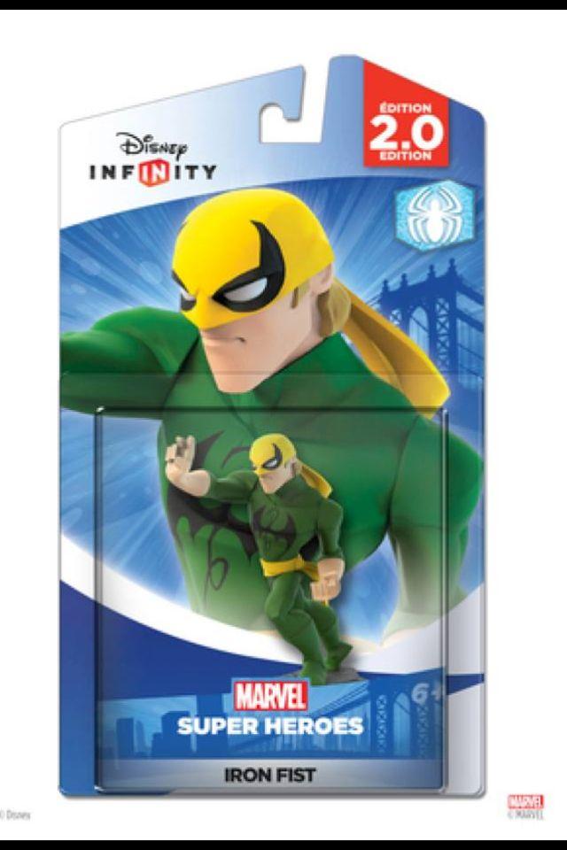 Disney Infinity Marvel Super Heroes Iron Fist Disney Infinity 2 0 Disneyinfinity Marvelsuperheroes Iron Fist Marvel Disney Infinity Marvel Superheroes
