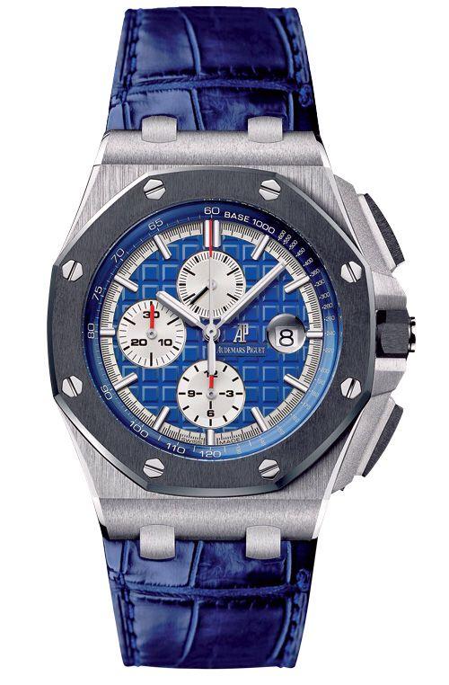 Platinum Royal Oak Offshore chronograph by Audemars Piguet