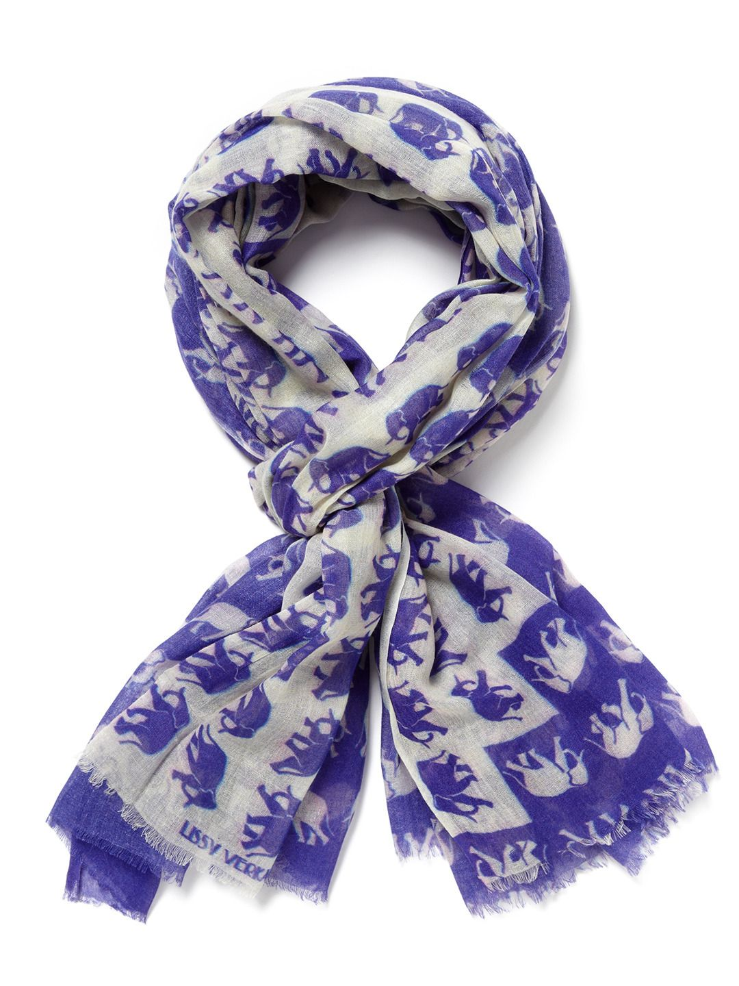 Elephants Parade Scarf by Be and D