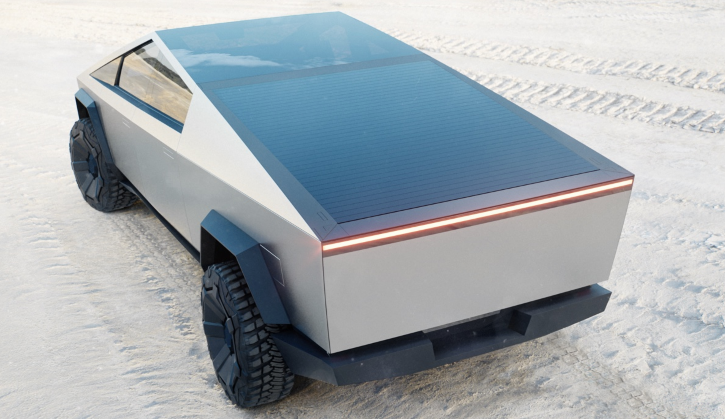 Tesla Cybertruck Will Be Firms First Solar Car Elon Musk Confirms The Tesla Ceo Once Derided Solar Cars It See Solar Car Electric Pickup Truck Pickup Trucks