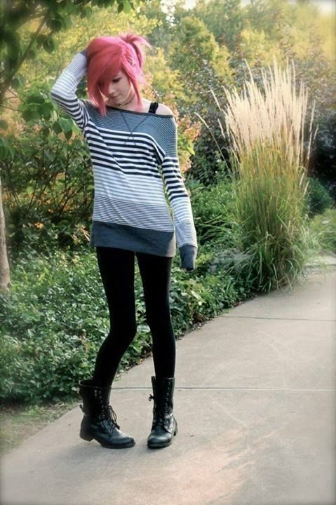 Outfit Idea Clothes Pinterest Emo Ideen And Outfit