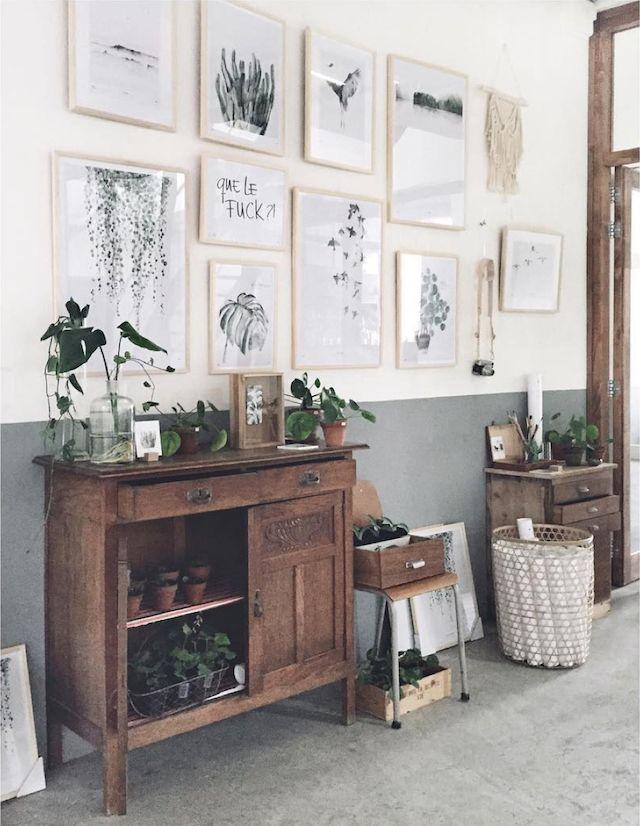 Dutch Home Filled With Plants And Artwork Gravityhomeblog.com   Instagram    Pinterest   Bloglovin
