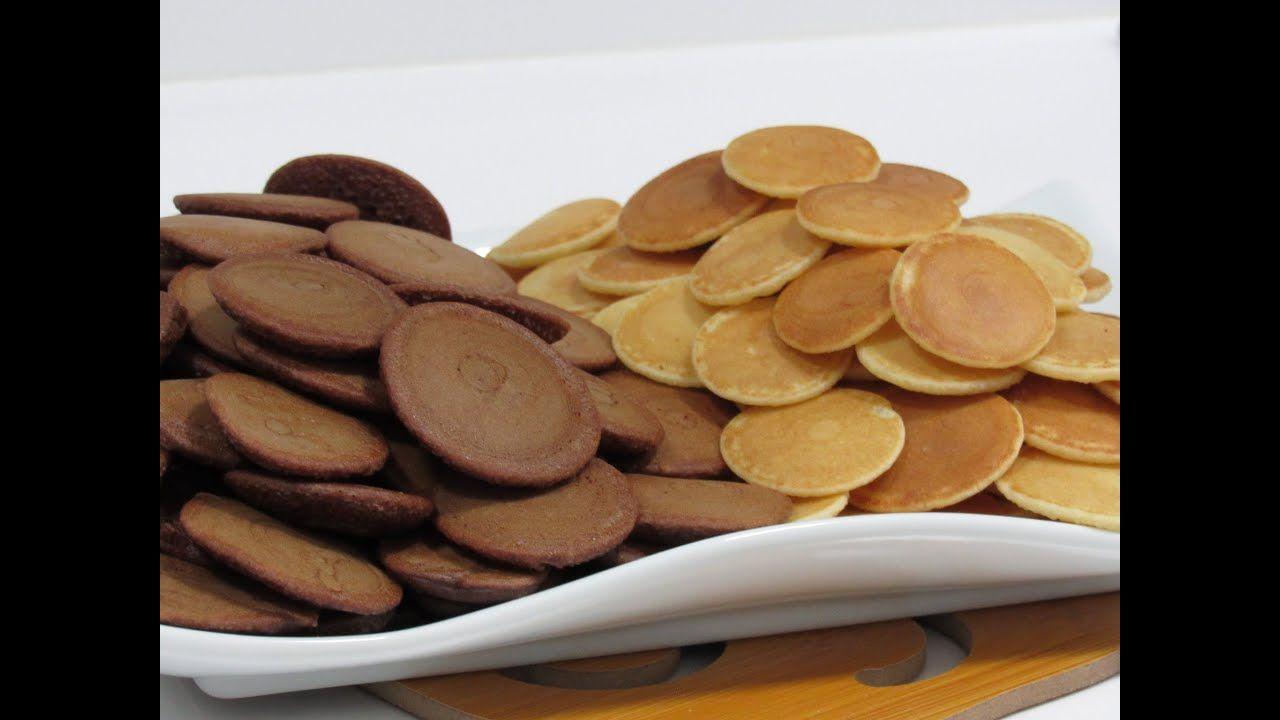 اسهل واضبط طريقة لعمل ميني البان كيك لونين بأبسط مكونات وأحسن من المطاعم Food Almond Desserts