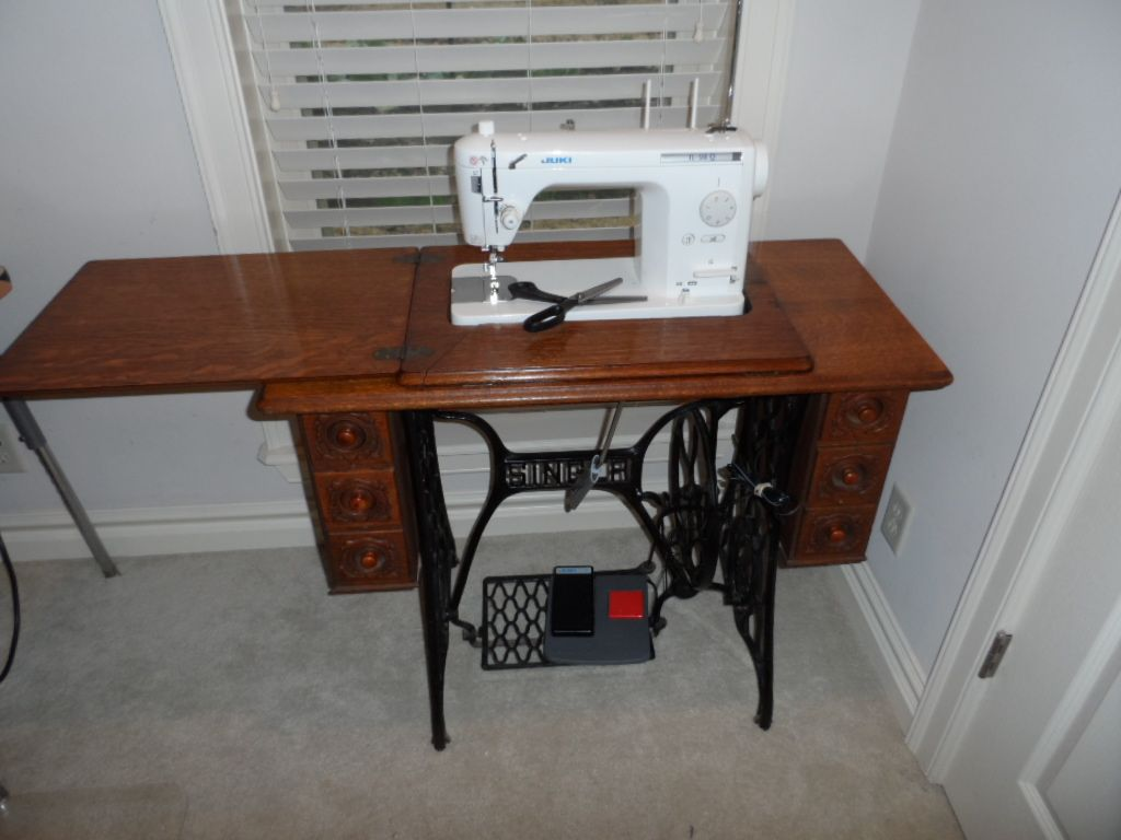 Pin By Bethany Noll On House Stuff Sewing Table Sewing Room