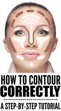 how to contour your face correctly a stepbystep guide