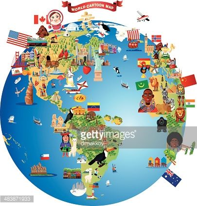cartoon map of world cartoon map cartoon free vector art cartoon map of world cartoon map
