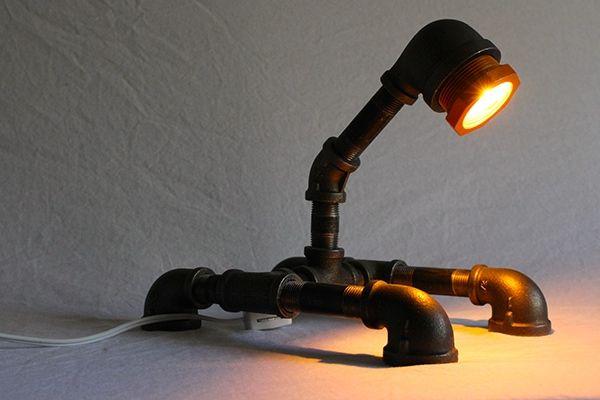 Industrial Desk Lamp on Behance