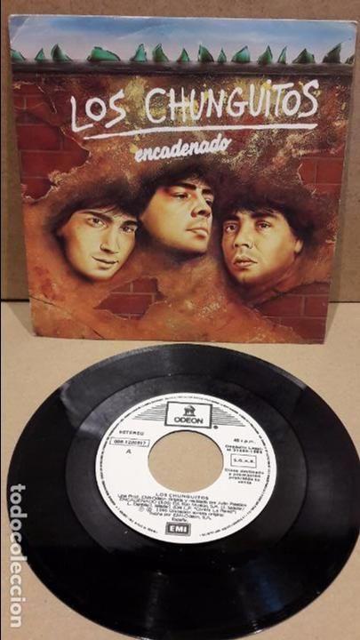 Los Chunguitos Encadenado Single Promo Emi Odeon 1985 Mbc Discos De Vinilo Musica Disco Portadas De Discos