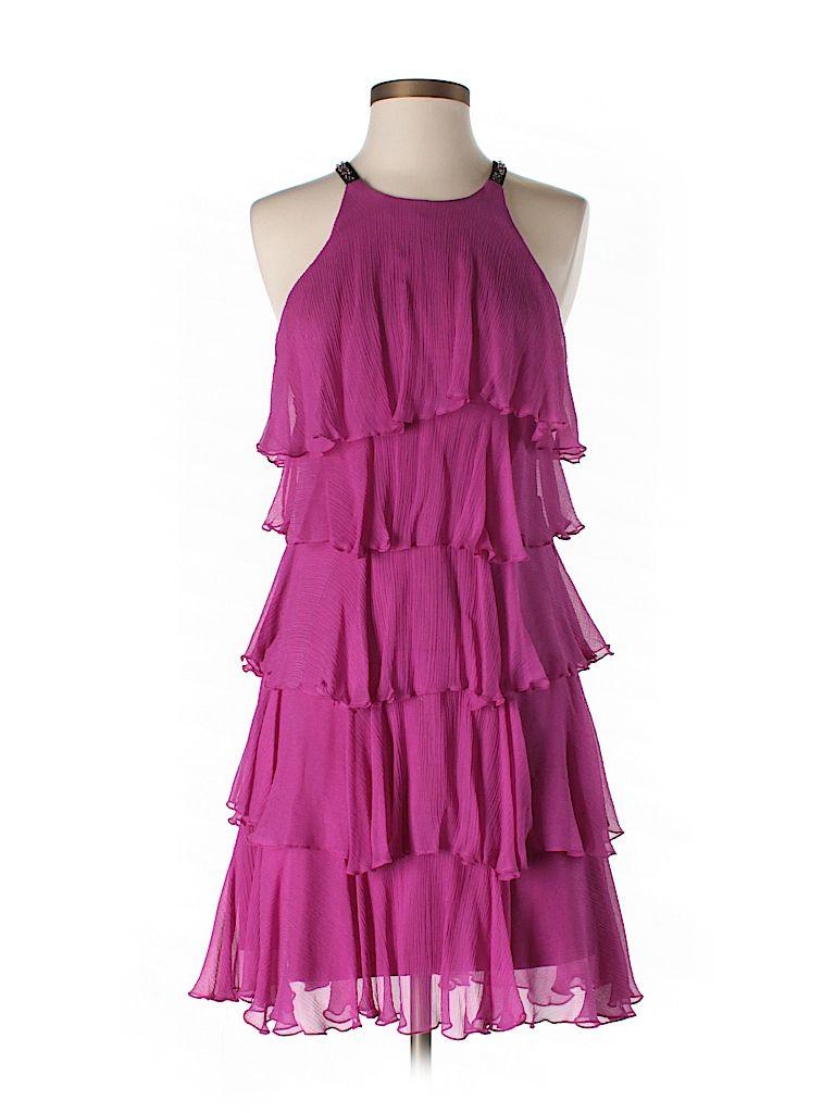Bcbgmaxazria Silk Dress $76.49 85% off