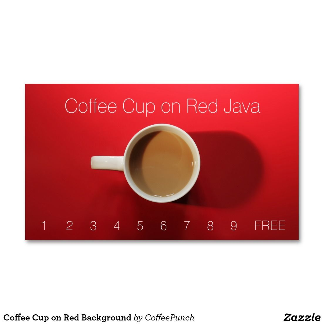 coffee cup on red table business card pinterest coffee cup