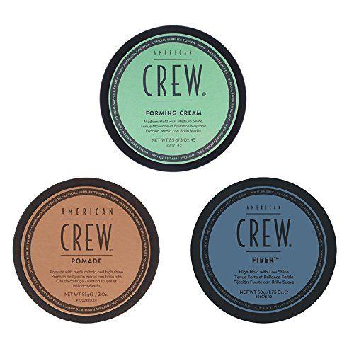 American Crew Mens Complete 3 Piece Hair Grooming Kit 1 Forming