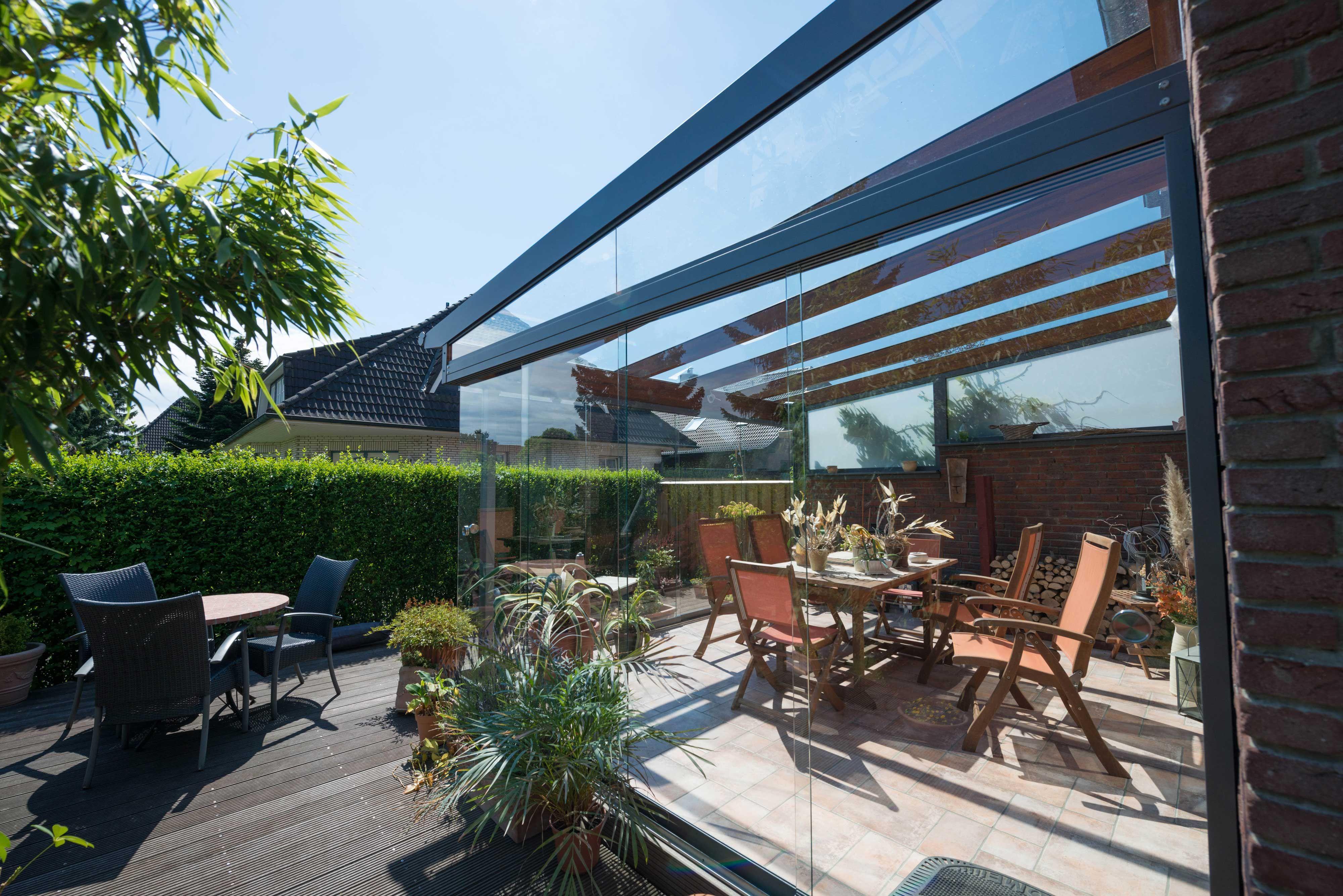 Braucht ihr Sommergarten oder Ihr Glashaus, Glasoase eine