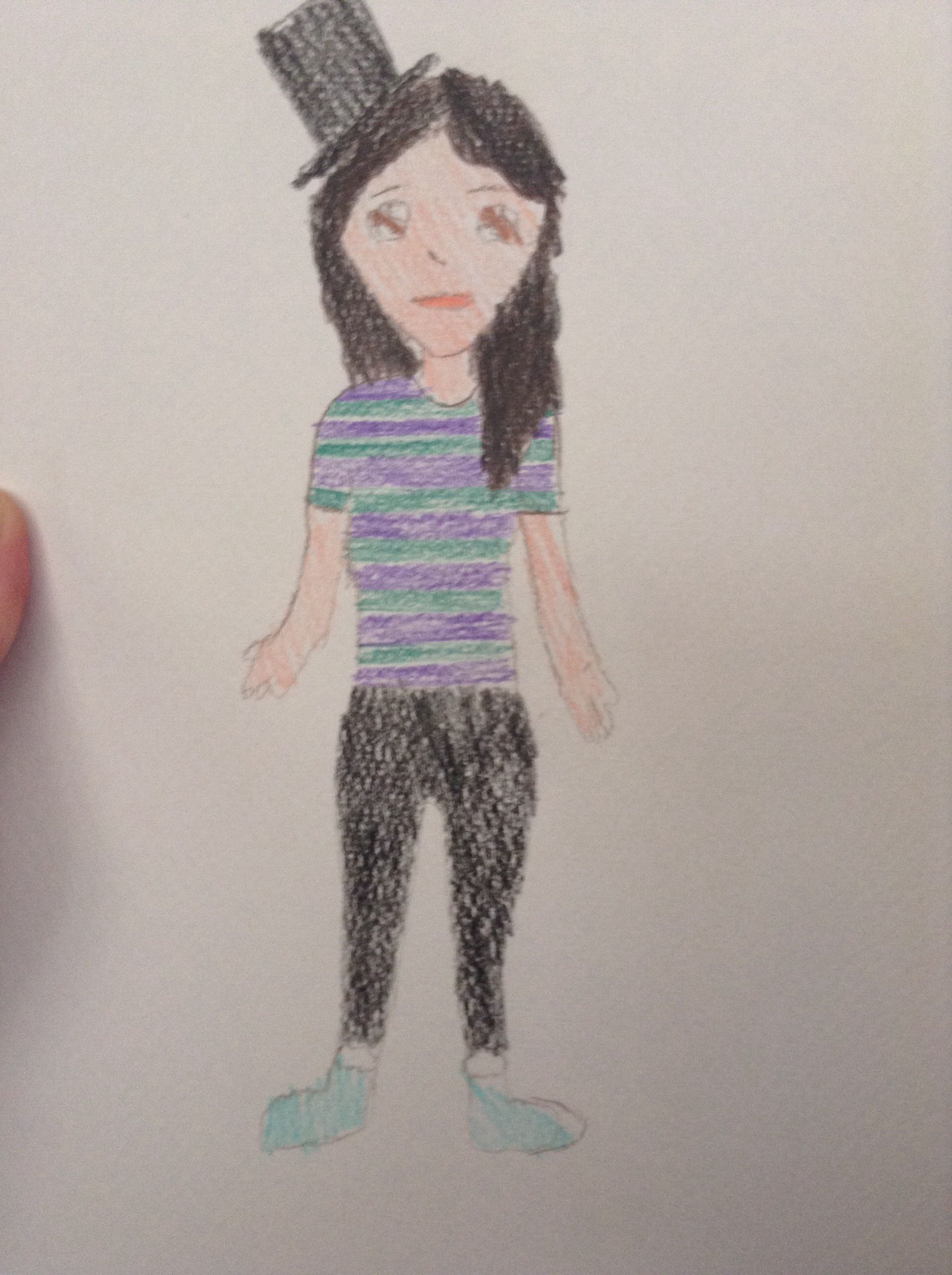 That is me i usually wear a hoodie and tshirt also wearing tights i