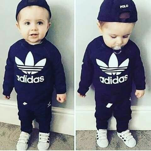 17e237bc1 Baby adidas | cute kids fashion | Cool baby boy clothes, Baby kids ...