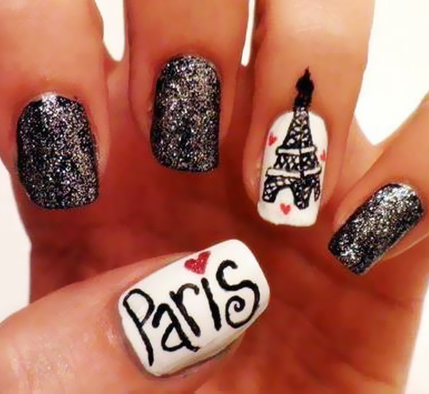 Favourite Paris Inspired Nail Designs Nail Art Pinterest Paris