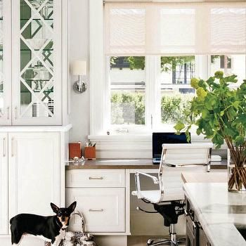 Built In Kitchen Desk  Kitchen Remodel  Pinterest  Kitchen Custom Kitchen Desk Design Inspiration Design