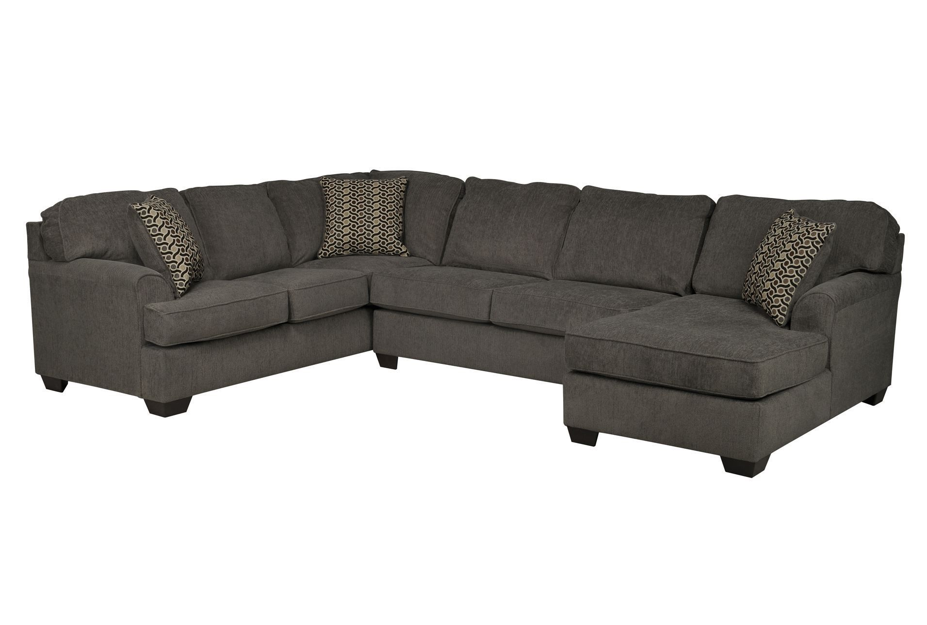 Meyer 3 Piece Sectional W Laf Chaise