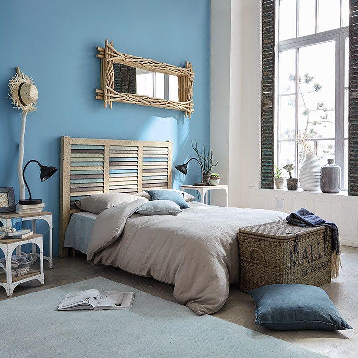 Meubles d co d int rieur bord de mer maisons du monde bord de mer pinterest meuble for Decoration chambre adulte bord de mer